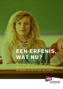 Brochure Erfrecht: Een erfenis, wat nu?