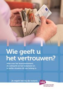 Brochure: Wie geeft u het vertrouwen?